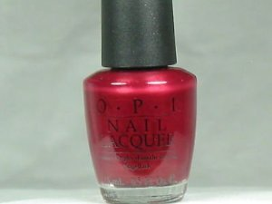 OPI Berry Broadway Nle16 Shimmer