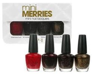 Opi Holiday Wishes Merries Lacquers