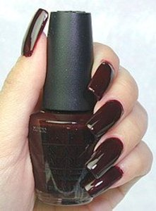 OPI Holiday Wishes A Bordeaux %7ehla05