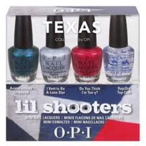 Texas Collection Opi Lil Shooters