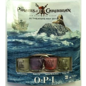 OPI Pirates Carribean Mini Lacquer