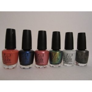 OPI Amazing Spider Collection Bottles